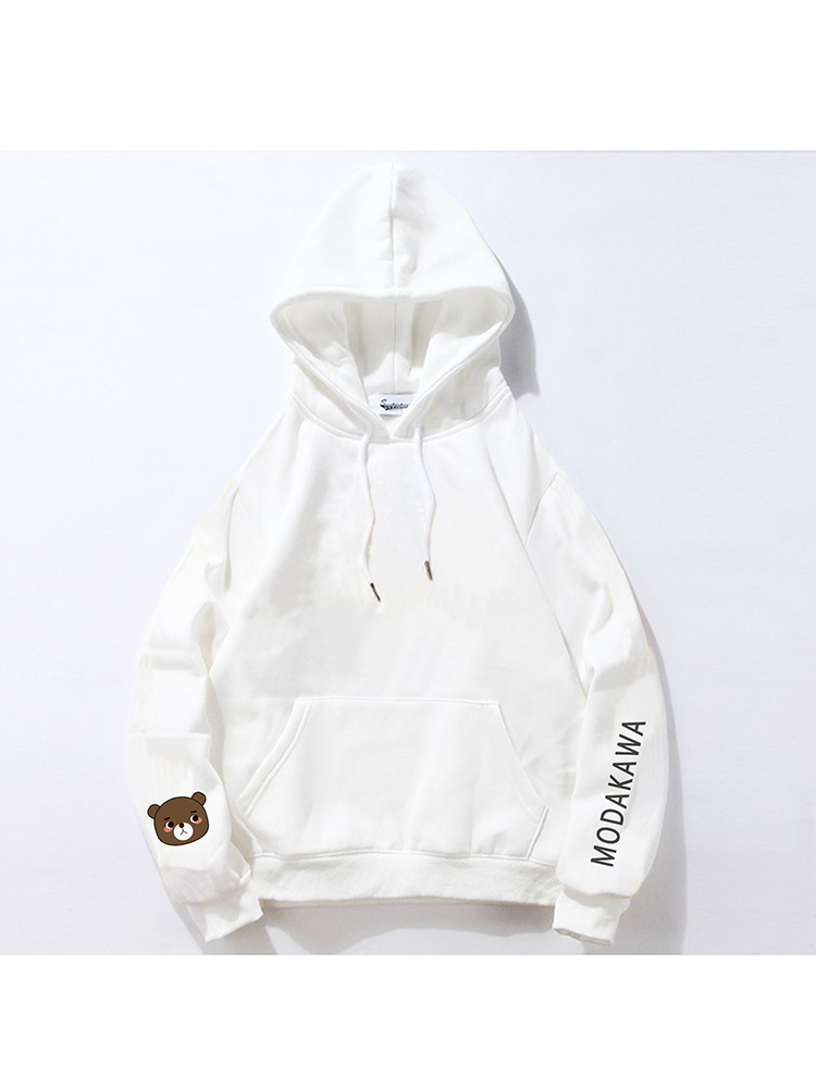 Modakawa Sweatshirt White / M Modakawa Anniversary Limited Edition Hoodie : Self Introduction
