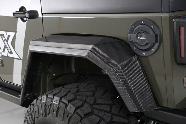"2007-2017 Jeep JK ""Stealth"" Complete Kit"
