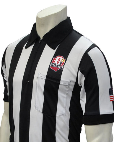 "USA130OH-607 - Smitty ""Made in USA"" - ""BODY FLEX"" ""OHSAA"" Short Sleeve Football Shirt"
