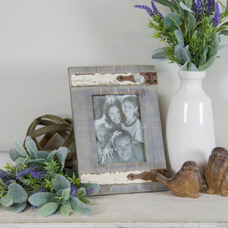 Wood Tabletop Picture Frame 5X7