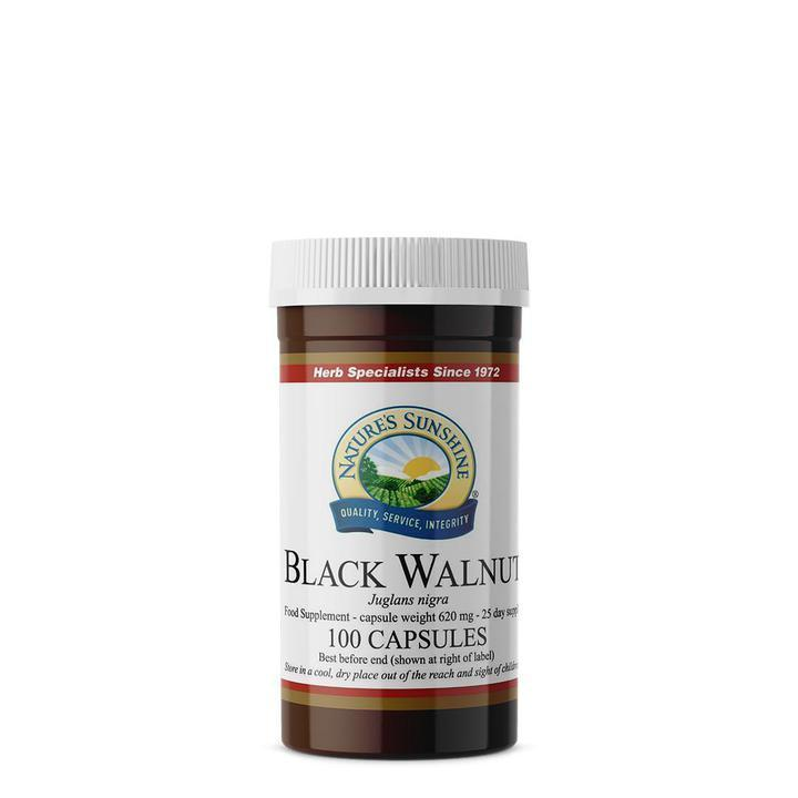 Nature's Sunshine Black Walnut (100 capsules)