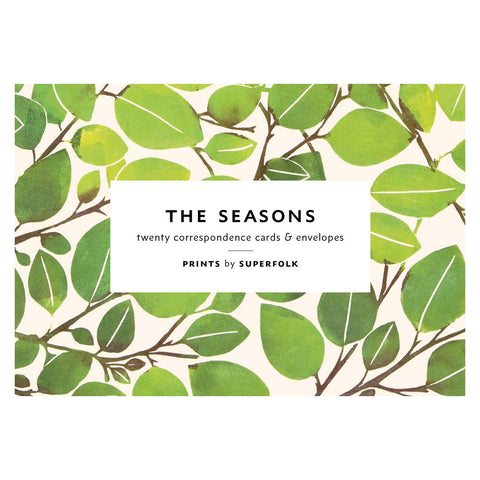 The Seasons Cards & Envelopes
