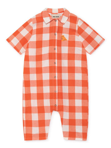 Bobo choses Vichy Buttons Playsuit