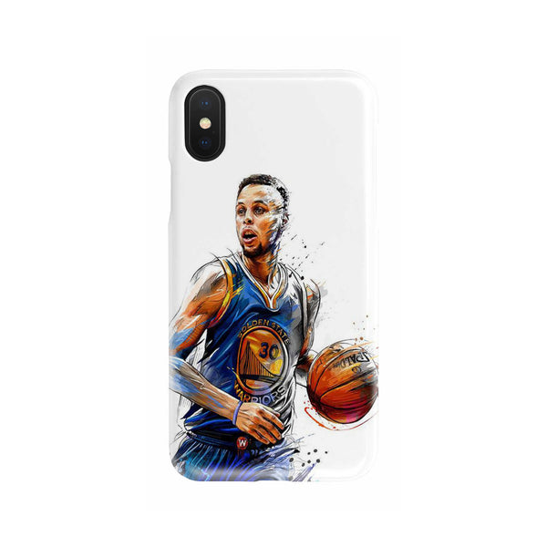 Curry Drawing Phone Case
