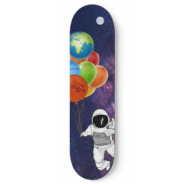 Out of Space Skateboard Wall Art