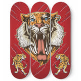 Lion Skateboard Wall Art
