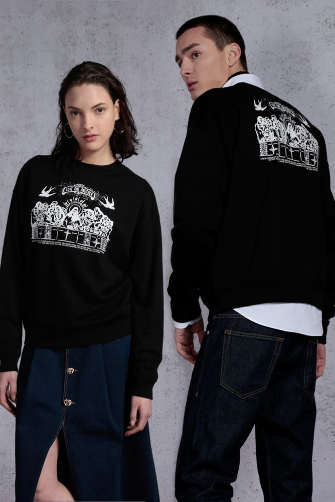2 Ways Last Supper Sweatshirt