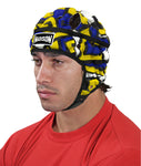 Graffiti Headguard - Blue/Yellow