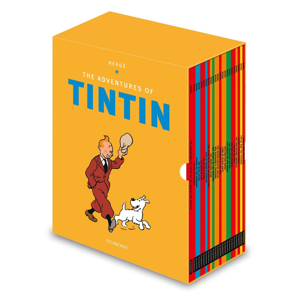Tintin Paperback Boxed Set 23 Titles (Multiple Copy Pack)