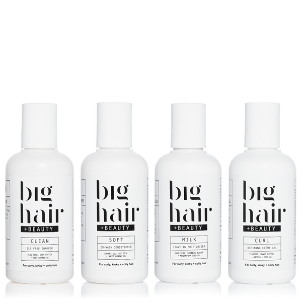 Curl Care Bundle - 100ml Luxe Travel Size