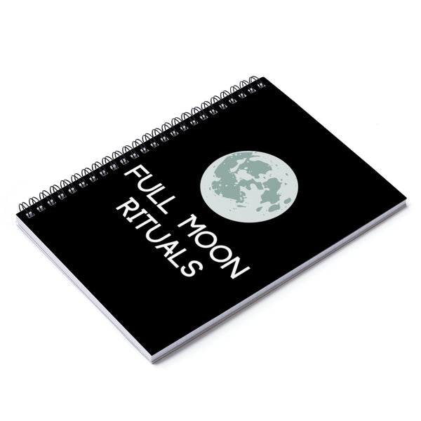 Full Moon Ritual Spiral Notebook