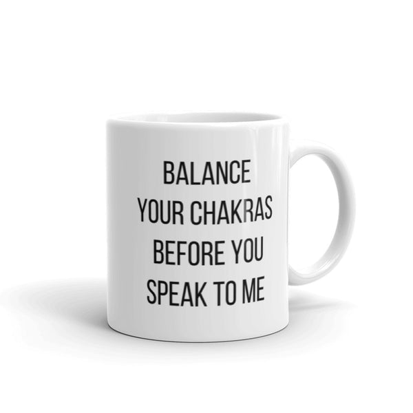 Balance your Chakras Mug