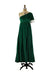winner winner | green velvet cocktail gown