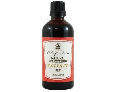 Extract Natural Strawberry (100ml)