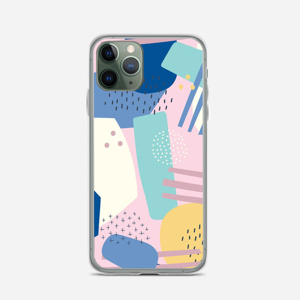 Abstract Artwork iPhone X Case