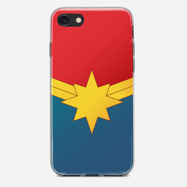 Captain Marvel Poster iPhone X Case