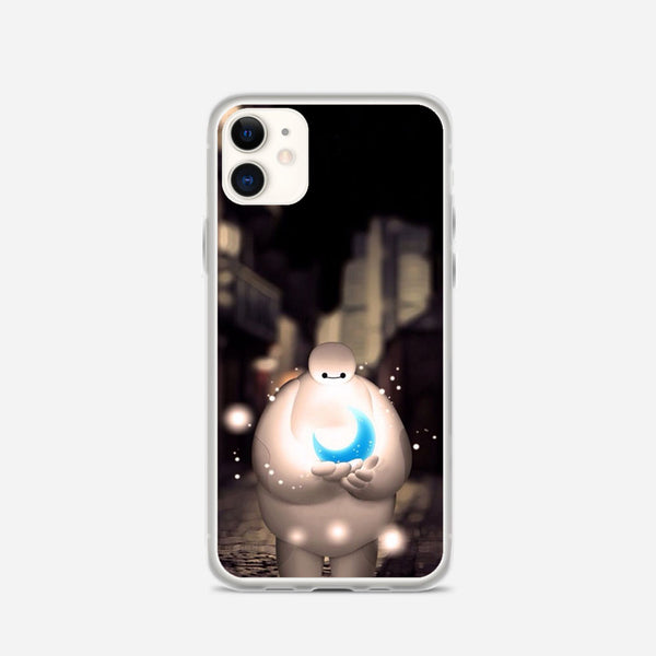 Baymax Holding Moon Dreamy iPhone X Case