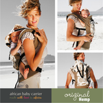 African Baby Carrier - Original Hemp - Our Precious Moments