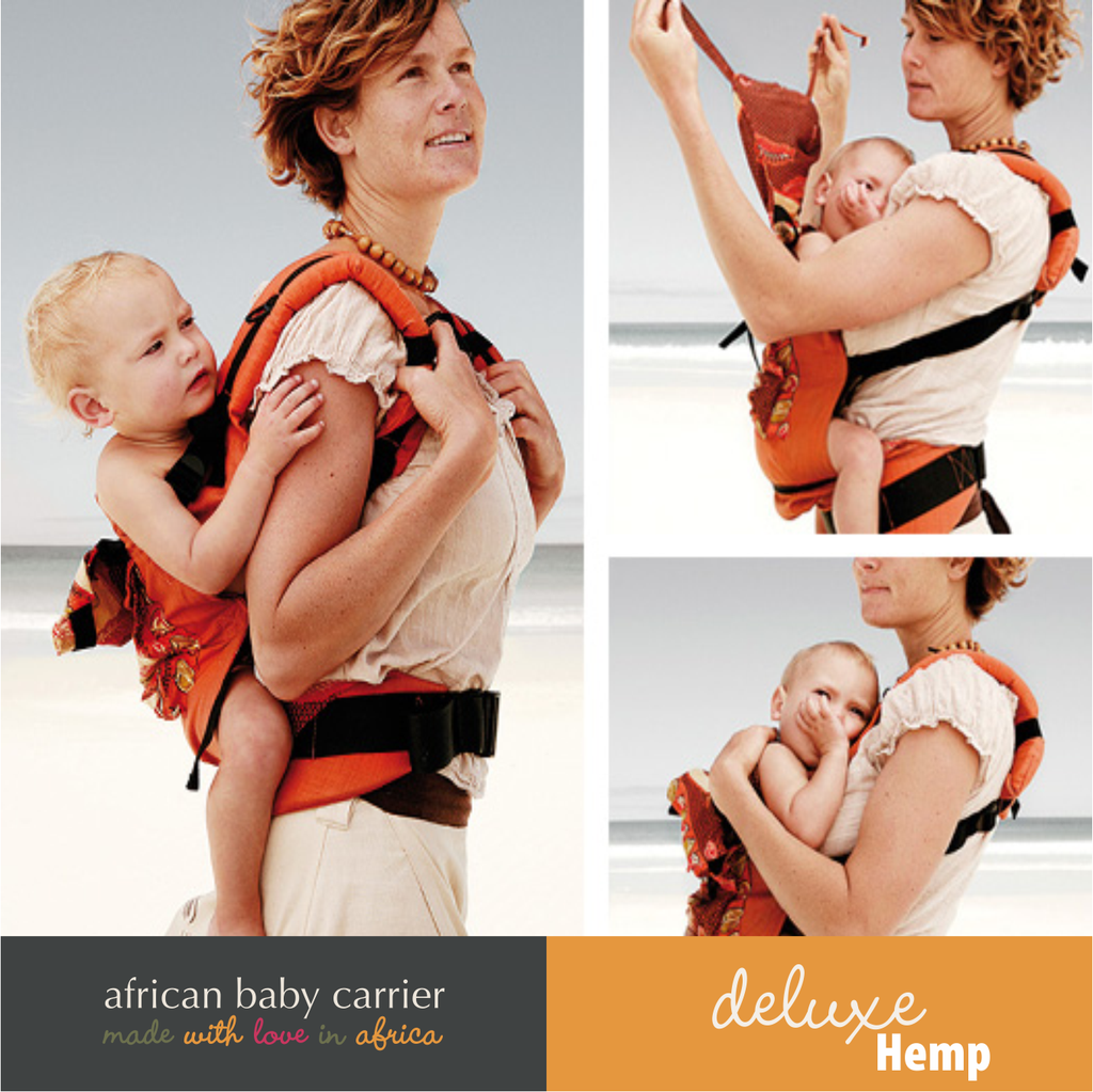 African Baby Carrier - Deluxe Hemp - Our Precious Moments