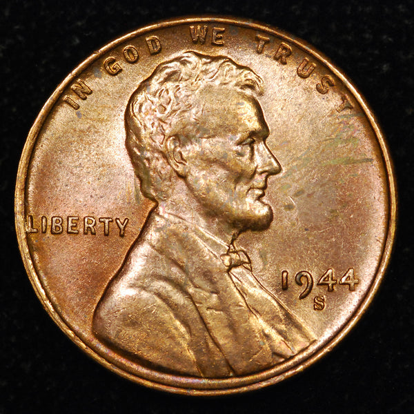 1944-S Lincoln Wheat cent - Ch-GEM Unc