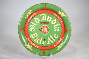 Old India Pale Ale Spinning Tip Tray Beer Coaster, 4""