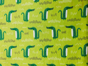 Everglades Crocodile Kids Cotton Fabric - Width Approx. 112cm