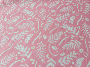 Hawaiian Vibrant Cotton Fabric Blue Pink Quilting Fabric Upholstery Quilt Fabric - Kims Crafty Corner
