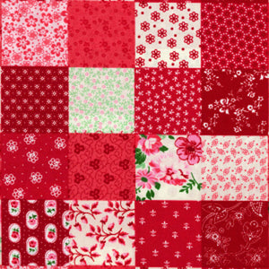 Country Kitchen Patchwork Cotton Fabric - Kims Crafty Corner