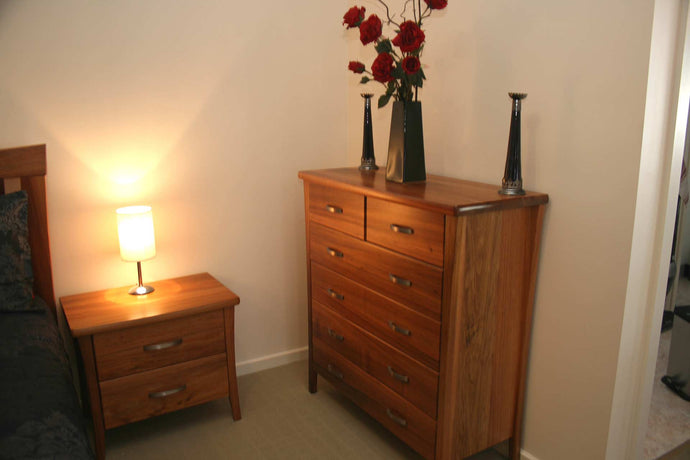 How to Style a Tallboy Furniture Dresser