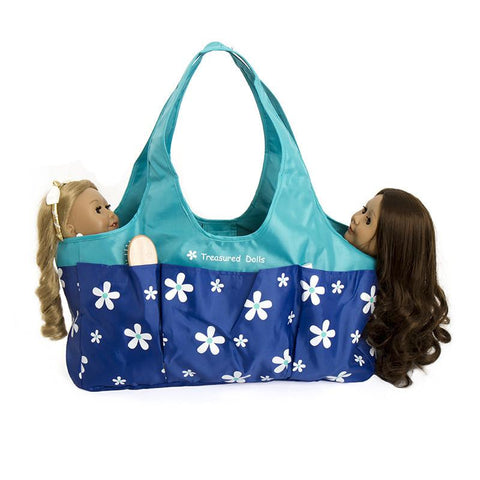 TWO DOLL TOTE BAG