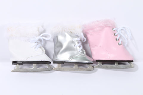 Ice Skates in Three Colors
