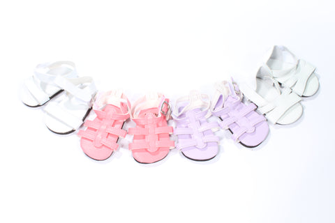 39  Lavender Strappy Sandals