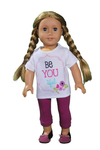 Be-YOU-tiful T-shirt and Legging Set