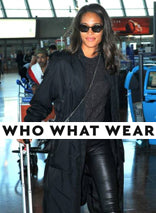 Faux Leather Leggings on WhoWhatWear