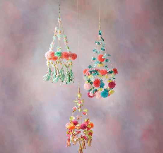 Flower Chandelier - 3 Colors