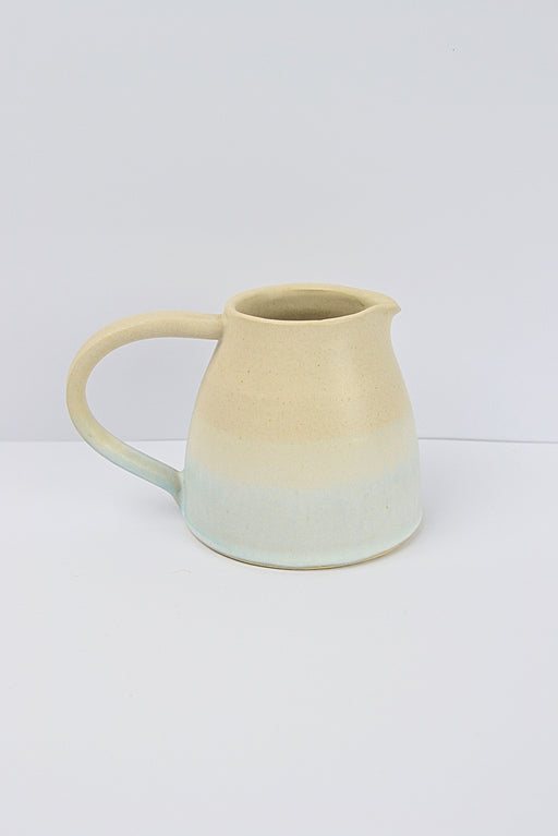 Small Light Blue and Ash stoneware Jug