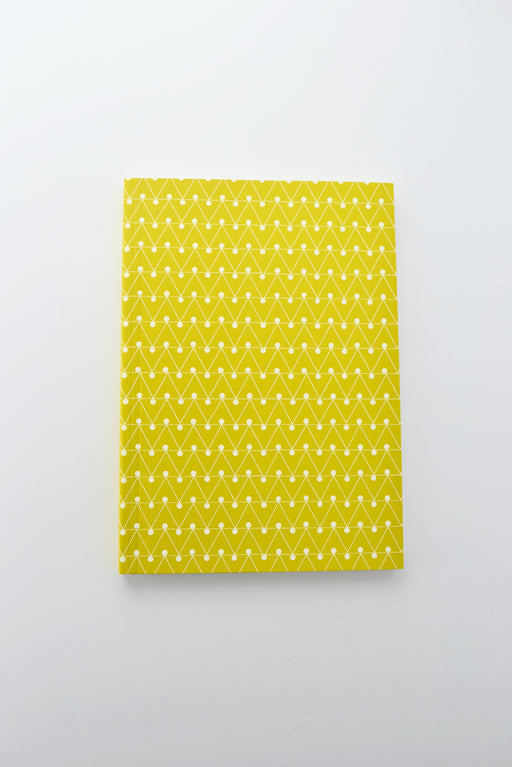 Layflat Notebook Ruled Green