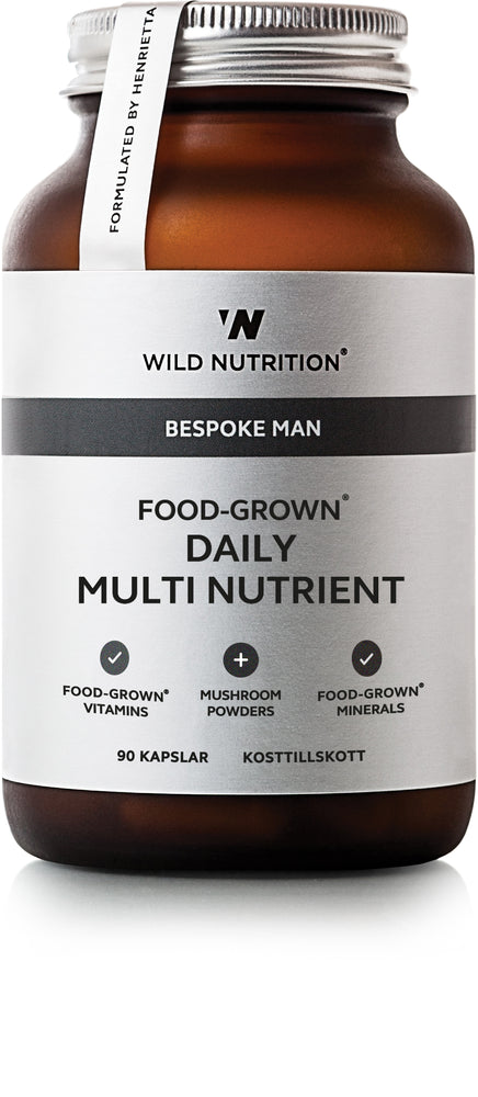 Food-Grown Daily Multi Nutrient Man - 90 caps (DATOVARE)