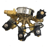 Braglia High Pressure Sprayer Controller. 3 Solenoids pressures to 720 psi