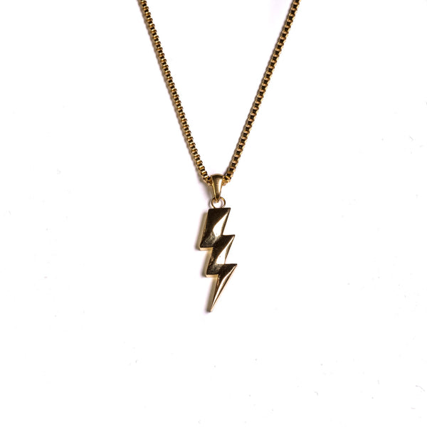 Flash Bolt Pendant - GOLDENGILT