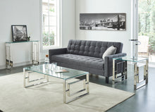 Load image into Gallery viewer, Eros Accent Table in Silver