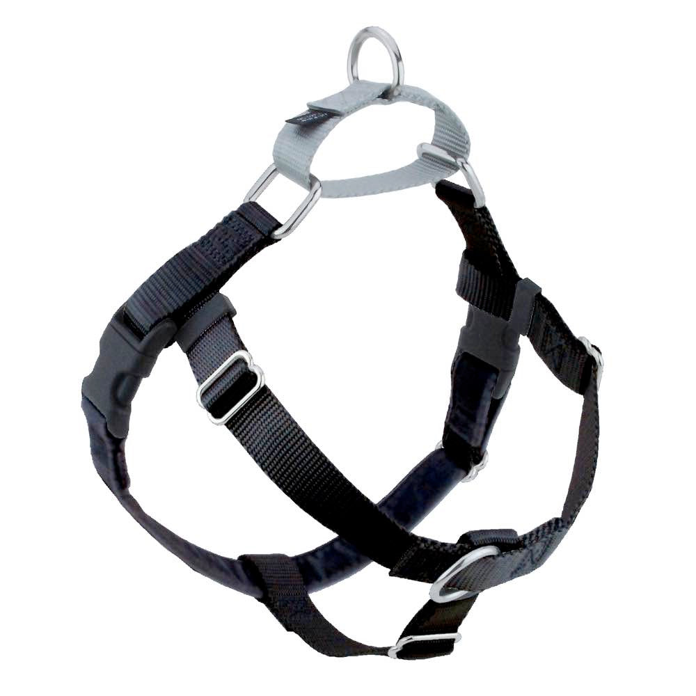 2 Hounds Design Freedom No-Pull Dog Harness - Black