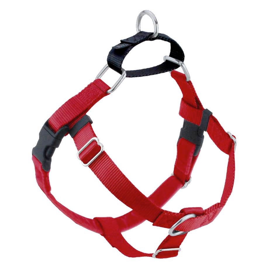 2 Hounds Design Freedom No-Pull Dog Harness - Red