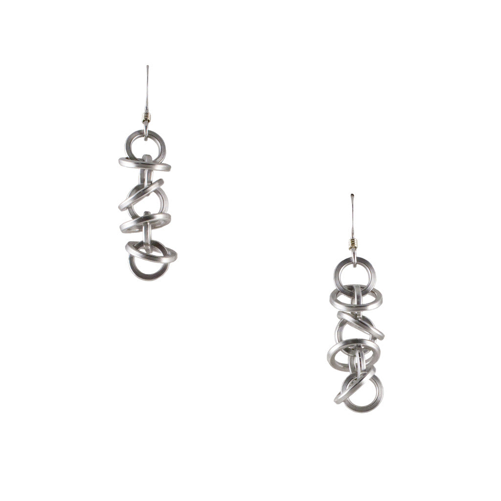 HALO Short Mini Architectural Earrings