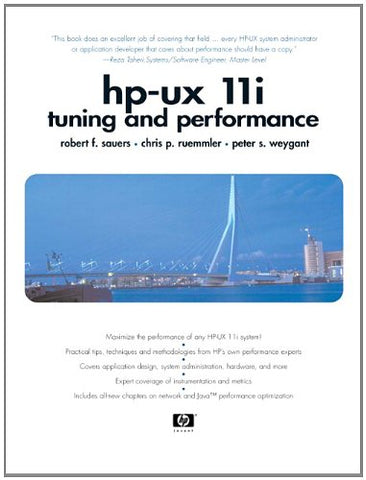 Hp-Ux 11I Tuning And Performance (2Nd Edition)