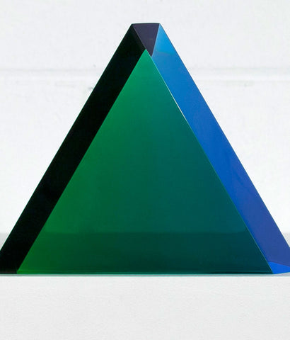 "VASA MIHICH ""JADE TRIANGLE"" SCULPTURE, 2017"