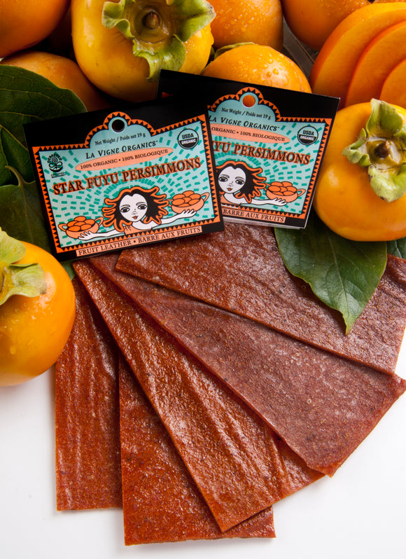 Persimmon Fruit Leather, Organic