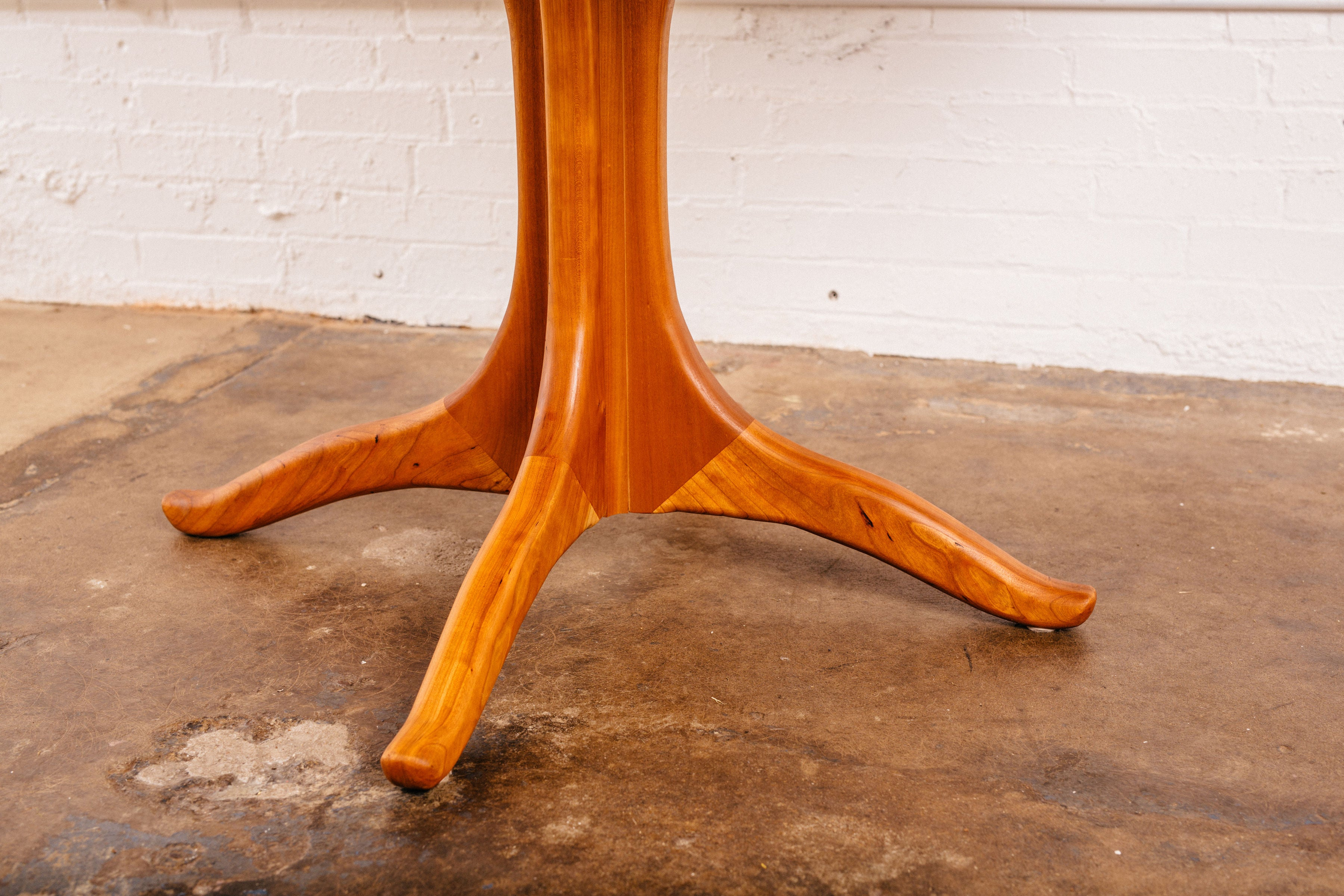 Sculpted Round Dining Table
