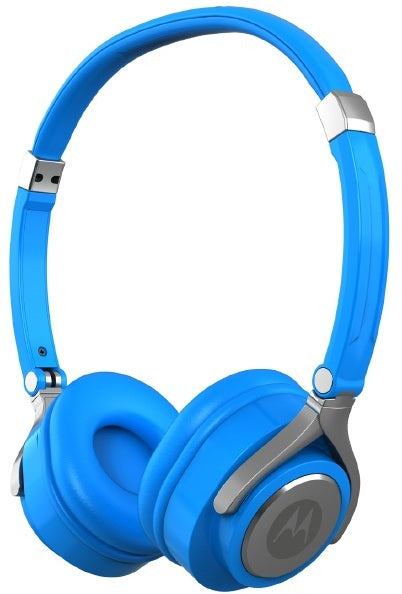 Motorola MP2 Pulse 2 Series Wired Headset Blue