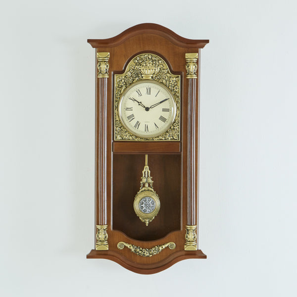 Ashfield Decorative Pendulum Wall Clock